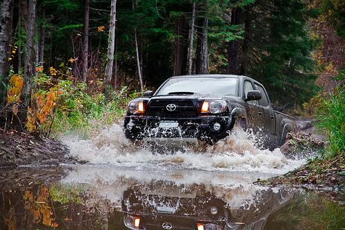 Off-Roading Canada - Toyota Tacoma Mudding Picture