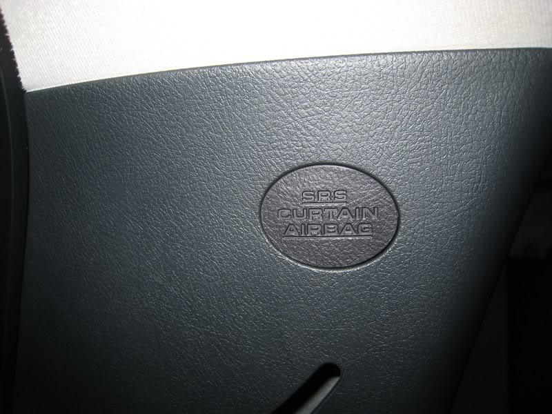 Step 6: Find the C-Pillar bolt under the SRS badge