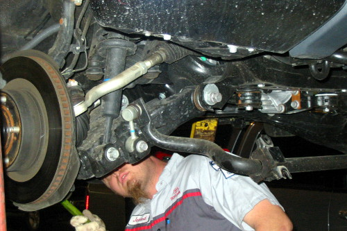 DIY Lift Kit Install Tips