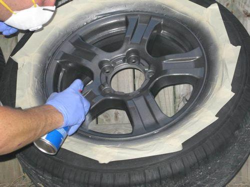 DIY Wheel Painting- Step 5