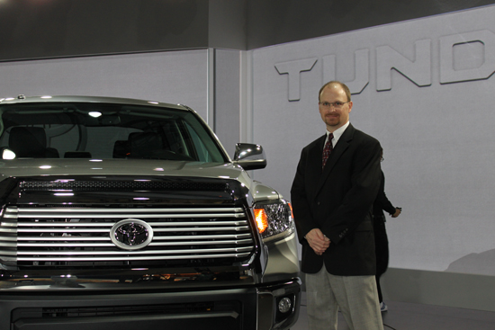 Q&A with Mike Sweers, Toyota Chief Engineer Tundra