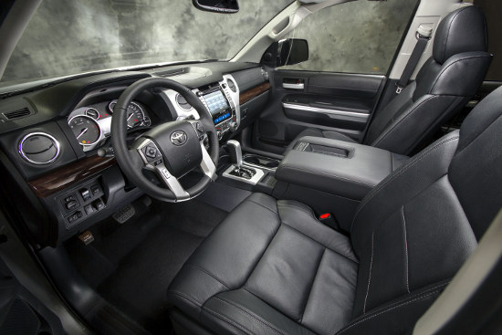 New 2014 Tundra interior