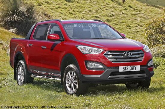 Hyundai pickup truck