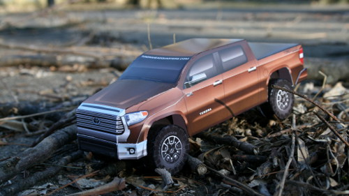 Paper Tundra model side view