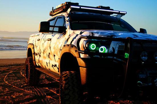 2011 Toyota Tundra SEMA Show Truck, For Sale - Featured Truck Sun