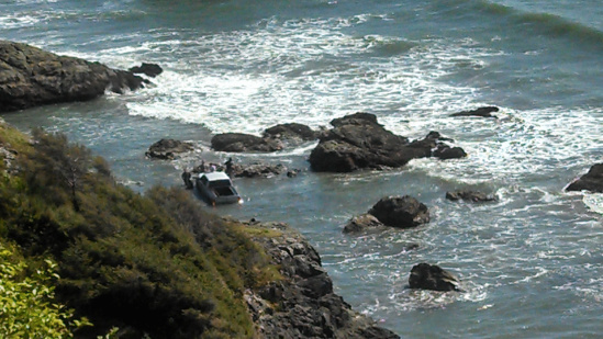 Ram Truck Commercial Blunder - Swept Out to Sea Shore Line