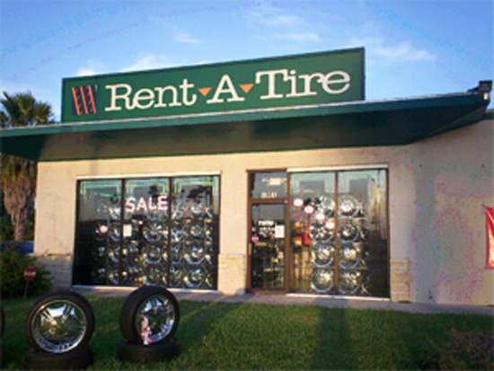 Rent-a-Tire Business Booming - Sad But True