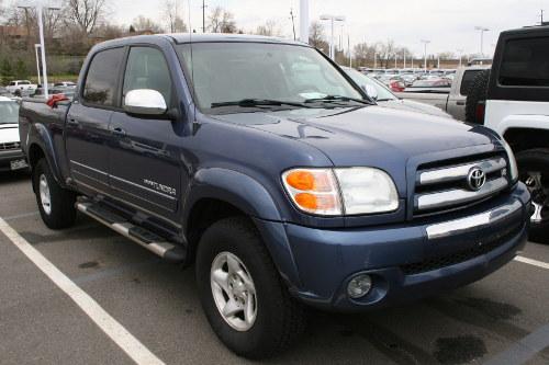 Blue 2006 Tundra