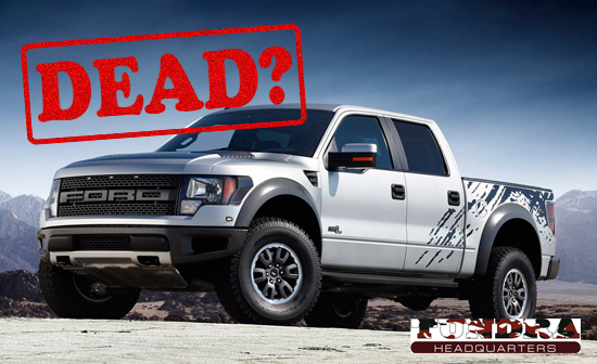 Ford F-150 SVT Raptor Future Clouded - Discontinued?