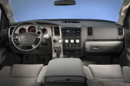 2013 Toyota Tundra CrewMax Limited - TundraHeadquarters.com Review Interior
