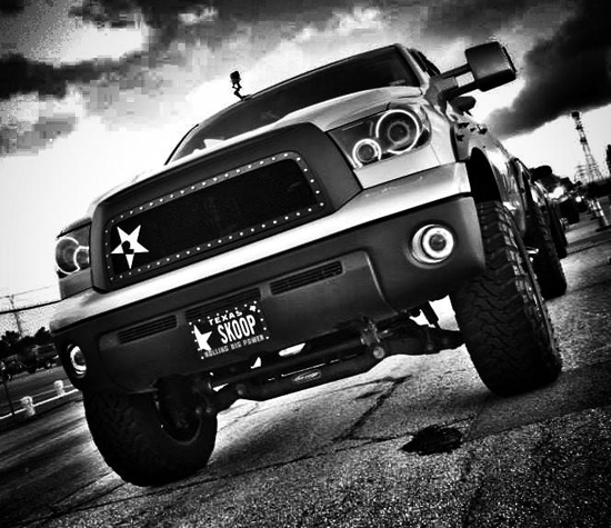 Project Titanium 2013 Toyota Tundra - Front 4