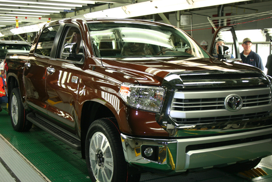 Toyota Celebrates One-Millonth Texas Truck Built - Market Sales Could Reach 2 Million