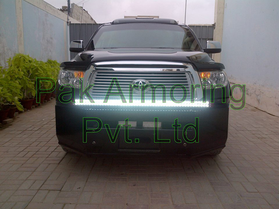 Bullet-Resistant, Armored Toyota Tundra - Featured Front