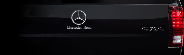 Report: Mercedes-Benz Considered a Pickup - New T Class?