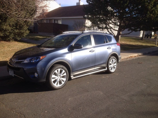 What We are Driving - 2013 Toyota RAV4 Limited