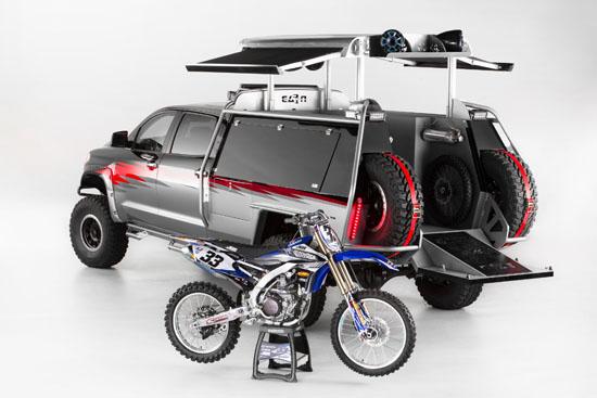 2013 SEMA Toyota Tundra Motocross - Dreambuild Winner, N-Fab Interview