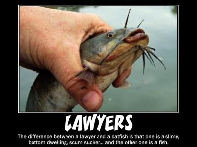 Lawyers scum sucking joke