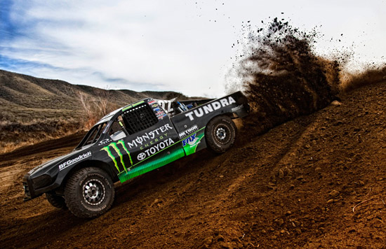 Toyota Tundra Pro-4x4 Race Truck Driver Johnny Greaves - Interview