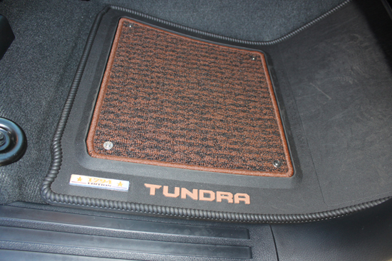 The 1794 floor mats are a standout item due to their styling and quality.