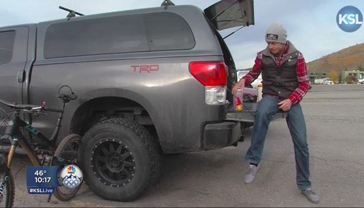 Snowboarder Who Lived In His Toyota Tundra Named to Olympic Team