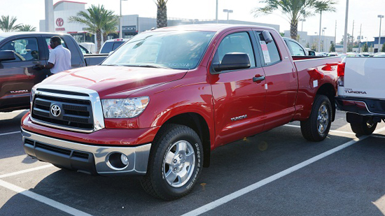 Toyota Releases 2013 Year-End Sales Figures - Tundra Keeps Pace