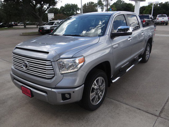 Toyota Tundra January 2014 Sales Up - Others Down