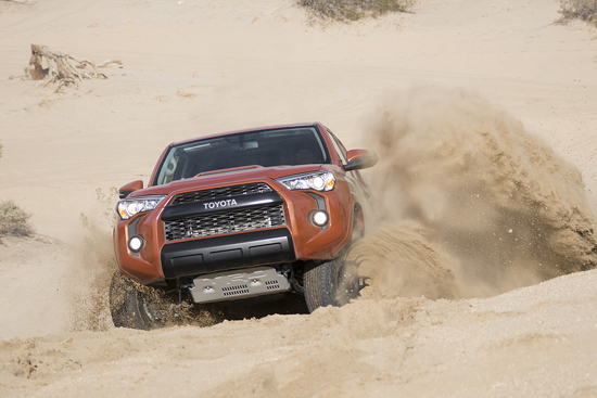 Toyota Unveils New TRD Pro Off-Road Package - 4Runner