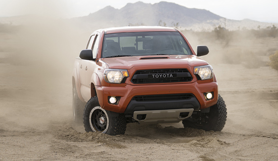 Toyota Unveils New TRD Pro Off-Road Package - Tacoma