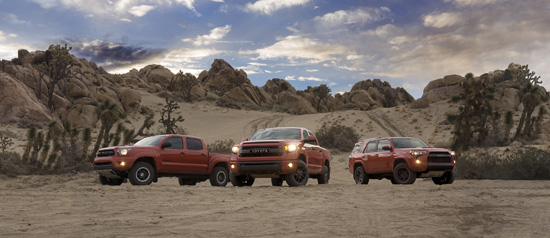 Toyota Unveils New TRD Pro Off-Road Package - Tundra, Tacoma, 4Runner