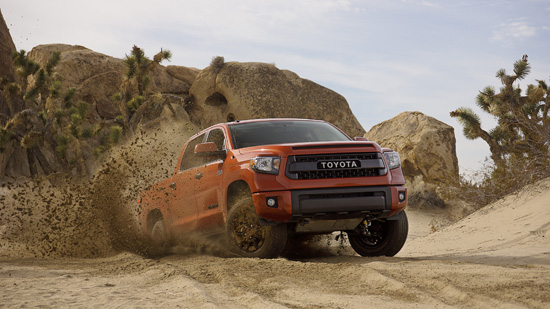 Toyota Unveils New TRD Pro Off-Road Package - Tundra