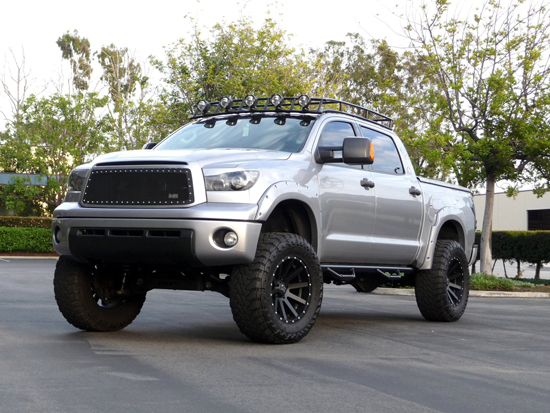 2012 Toyota Tundra Project Silver Bullet - Featured Truck