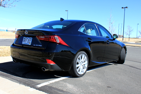 2014 Lexus IS 350 Review - Rear Profile