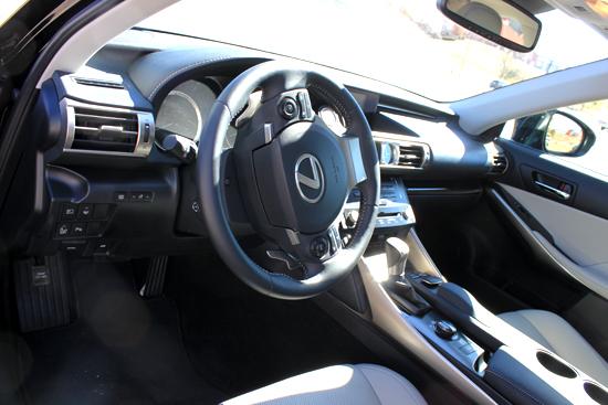 2014 Lexus IS 350 Review - Interior
