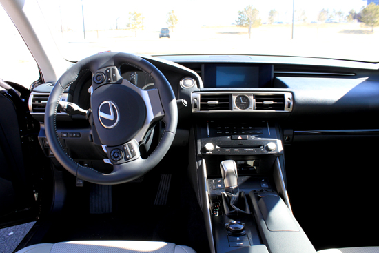 2014 Lexus IS 350 Review - Interior Frontal