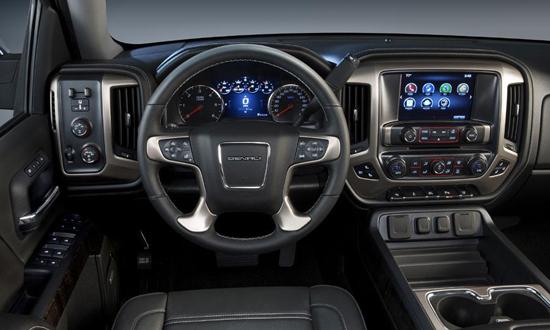 Ward's Auto Names GMC Sierra Denali Top Interior - GMC Sierra Denali