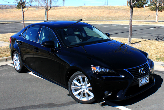 2014 Lexus IS 350 Review - Front Profile
