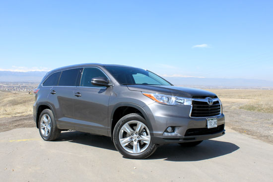 2014 Toyota Highlander Limited Review - Exterior Overview
