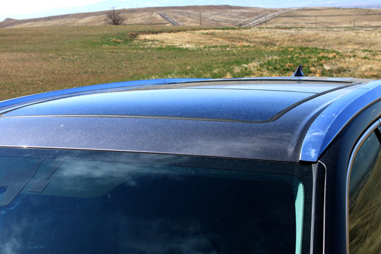 2014 Toyota Highlander Limited Review - Sunroof