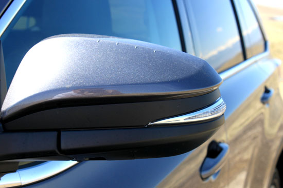 2014 Toyota Highlander Limited Review - Side Mirrors