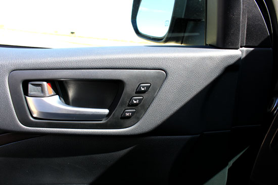 2014 Toyota Highlander Limited Review - Programmable Seats