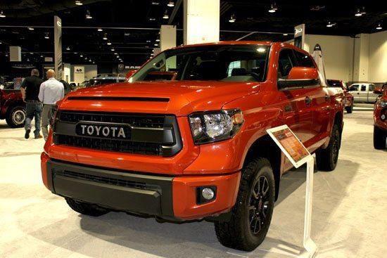 2015 Toyota Tundra TRD PRO - Denver Auto Show Closeup