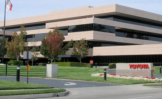 Toyota Plans to Move U.S. Headquarters