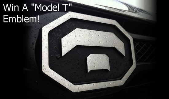 Win a Custom Emblem For Your Tundra Through Our Facebook Page