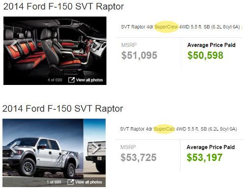 Ford Raptor pricing vs Tundra TRD Pro
