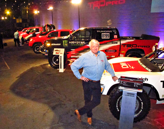 Toyota Promotes Baja Race Trucks, Directly Challenges Raptor?