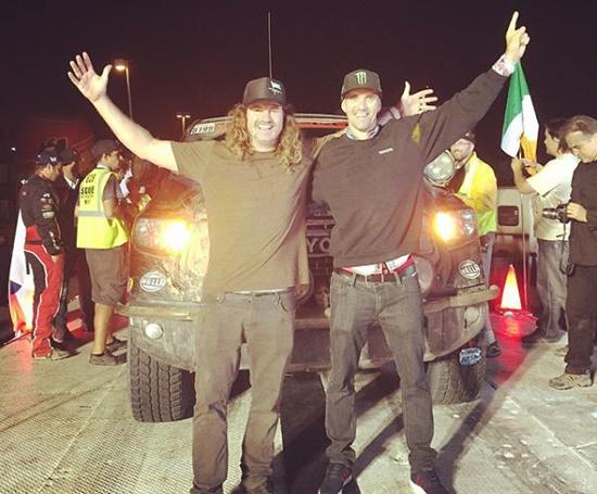 Toyota TRD Pro WINS Baja 1000