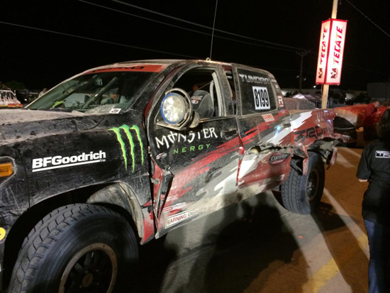 Toyota Tundra TRD Pro WINS Baja 1000