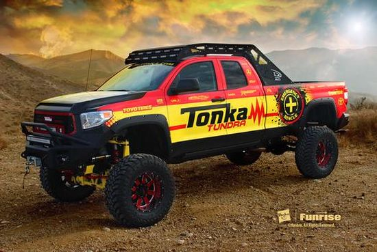 2014 SEMA Toyota Tonka Truck