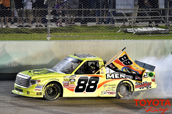 Toyota Tundra Driver Wins Back to Back NASCAR Truck Championships