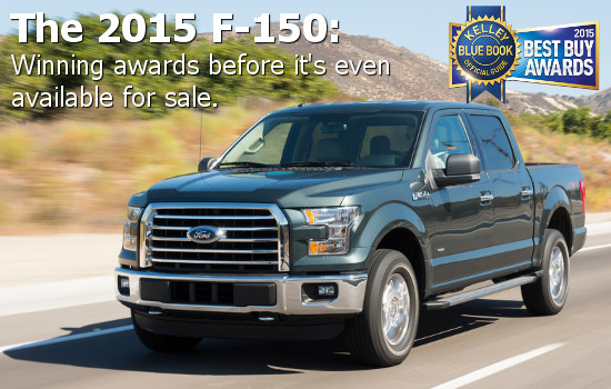2015 Ford F-150 KBB Best Buy
